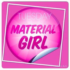 Tuesday, October 16, 2018 Material Girl